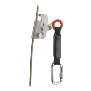 Delta Plus ASCAB AN070 Rope Grab for 8mm Wire Rope with Shock ...
