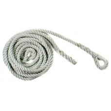 Ridgegear RGA10R 16mm Rope with Single Eye 5 Metres