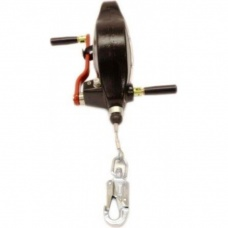 Ridgegear RGA4H 15 Metre Wire Fall Arrest & Rescue Block c/w Stabilising Handle